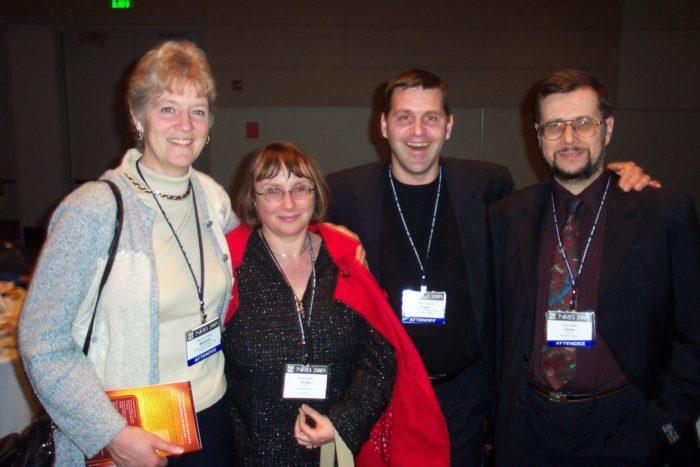 un couple de confrères canadiens rencontré à la conférence de la NRB